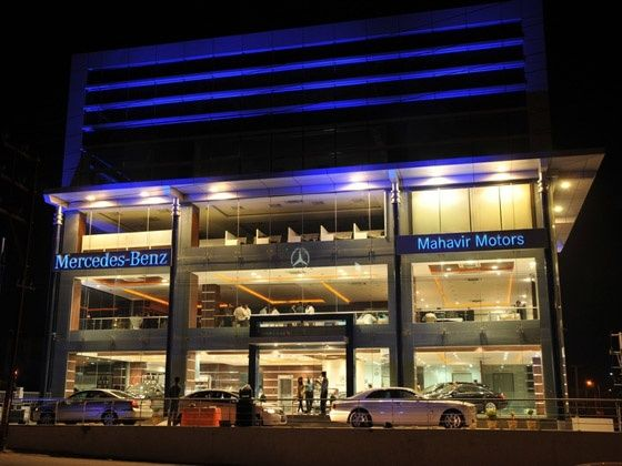 Mercedes benz india inaugurates its hyderabad dealership for Used mercedes benz in hyderabad