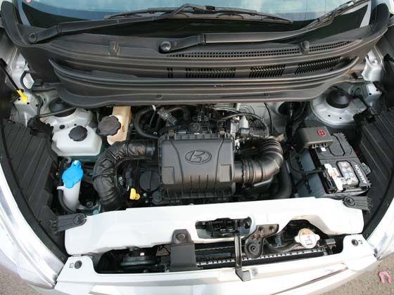 Hyundai Eons 814cc petrol engine