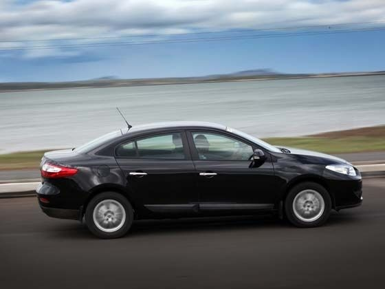 Renault Fluence being tested
