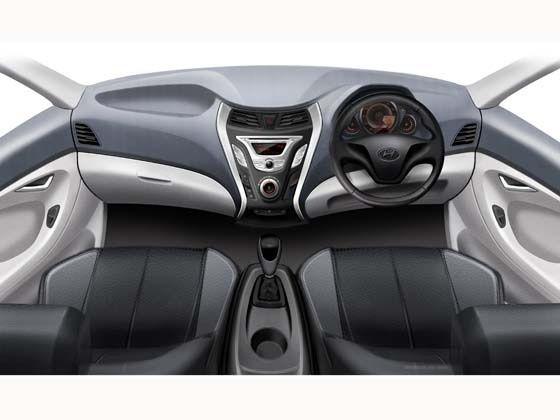 Hyundai EON: Interiors