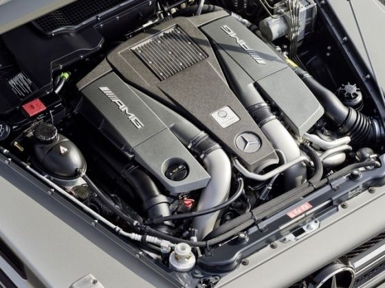 5.5 litre birturbo V8