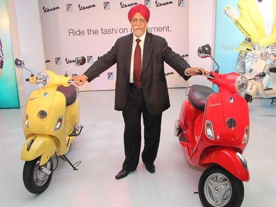 New Vespa Launch