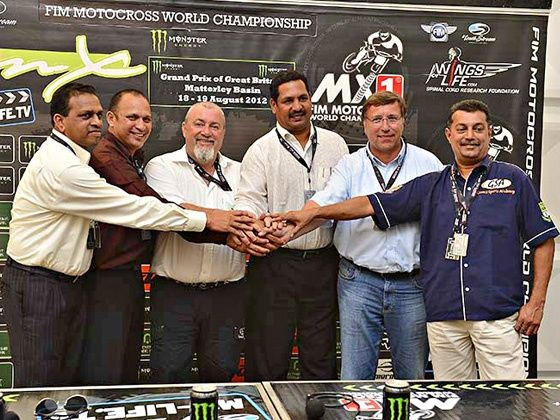 Goa Delegation on their recent visit to the FIM Motocross World Championship