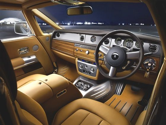 Rolls-Royce Phantom Aviator Collection interior photo