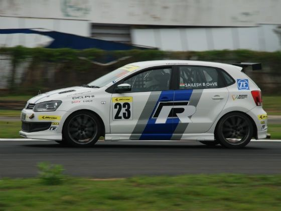 Sailesh Bolisetti participated as a guest driver in Round 3