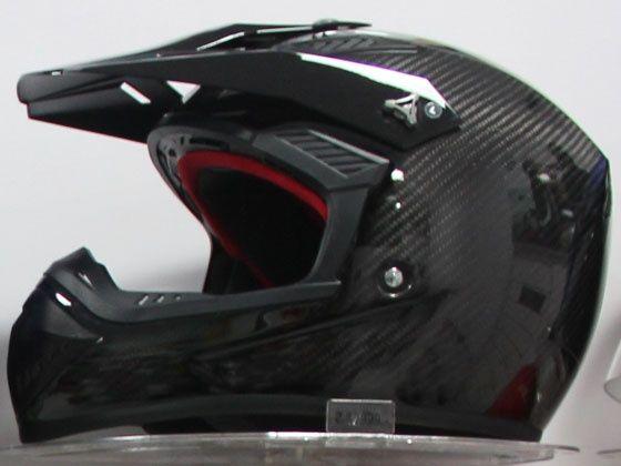 Steelbird carbon fibre helmet