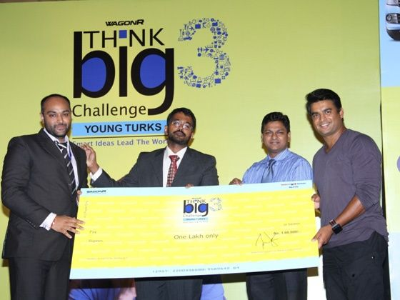 Maruti Suzuki winner of WagonR Think Big Challenge 3