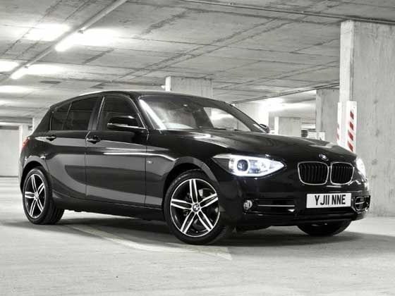 BMW 1 Series front static