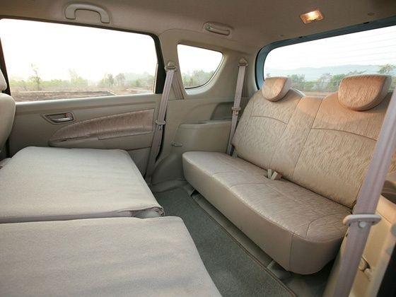 Maruti Suzuki Ertiga third row seating