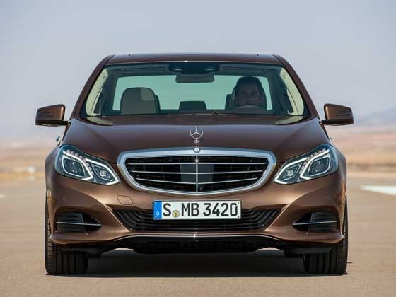 refreshed Mercedes-Benz E-Class frontal styling