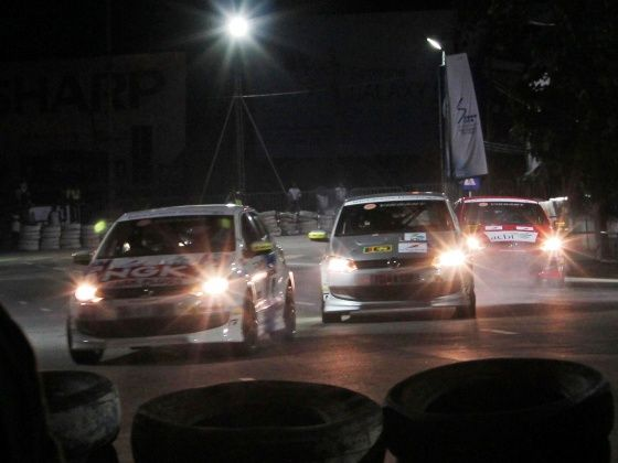 Polo R Cup cars at 2012 Colombo Night Races