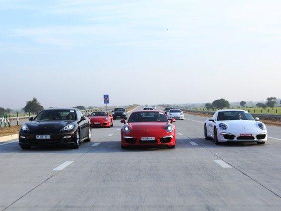 Porsche India model line-up