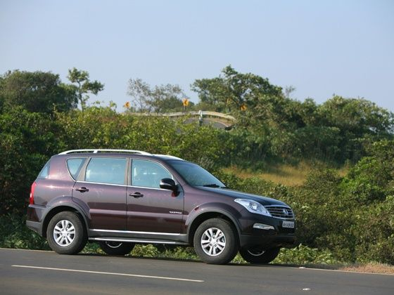 Ssanyong Rexton road test
