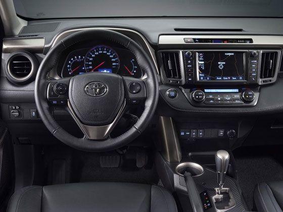 Toyota RAV4 nội thất