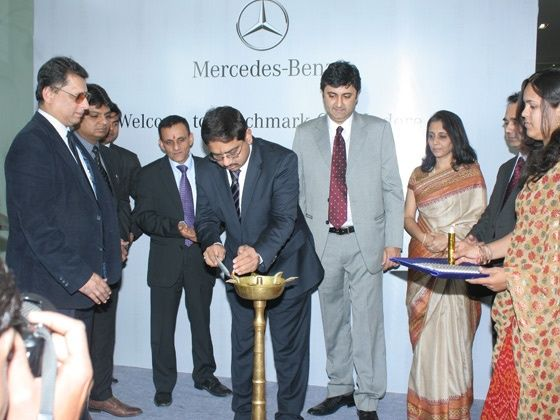 New Mercedes-Benz showroom in Indore