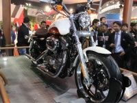 Harley Davidson India at Delhi Auto Expo 2012