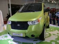 Mahindra REVA at the 2012 Delhi Auto Expo