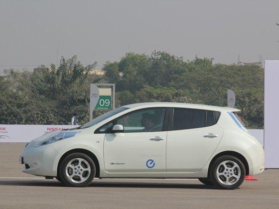 Nissan Leaf First Drive