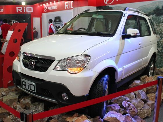 Premier Rio at 2012 Delhi Auto Expo