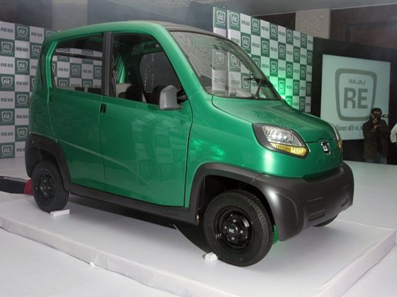 Bajaj RE60 four-wheeler unveiled