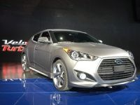 2013 Hyundai Veloster at the Detroit Motor Show