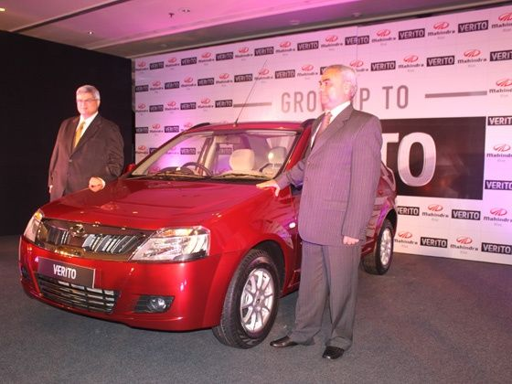 Face-lifted Mahindra Verito Launched