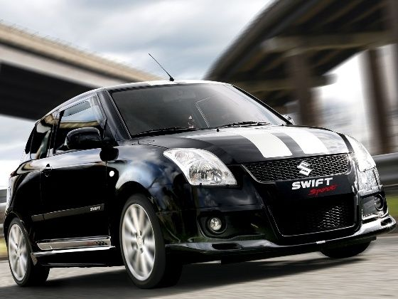 Swift Sport with body kit