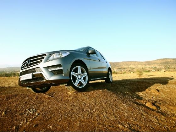 Mercedes-Benz ML 350 CDI front