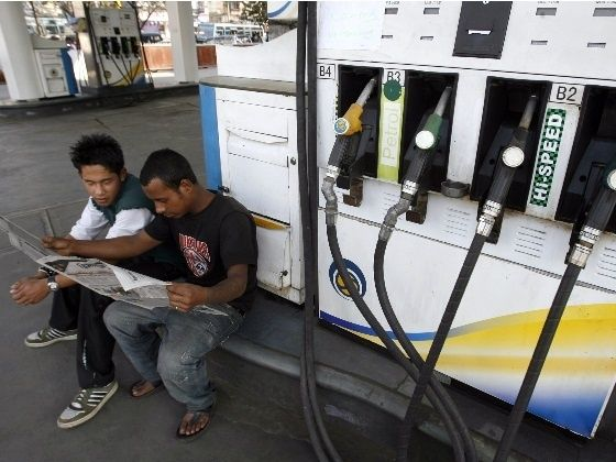 Petrol prices slashed