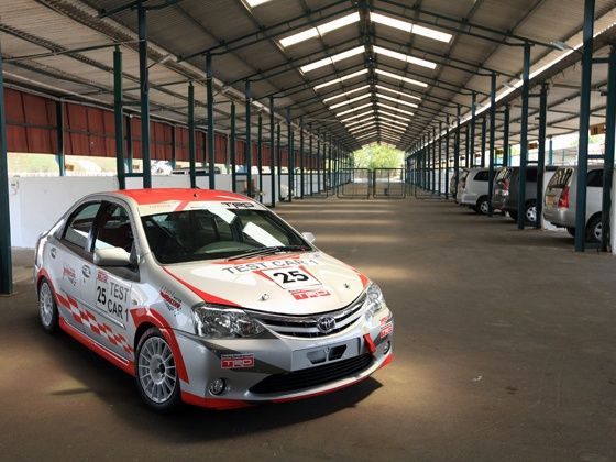 Toyota Etios Motor Racing Car