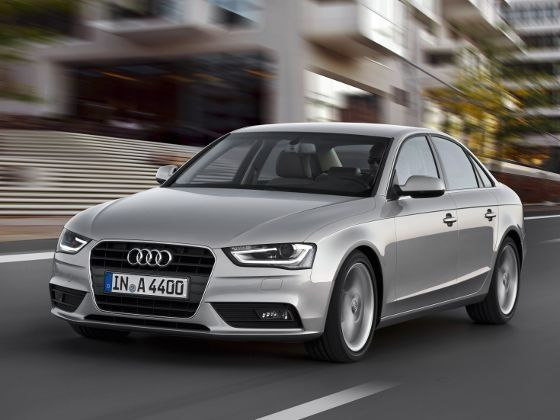 2012 Audi A4 driving front