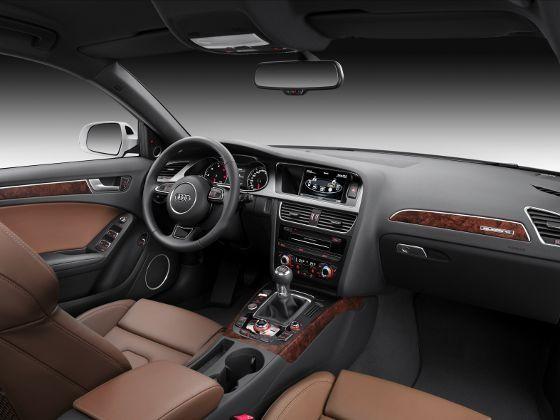 2012 Audi A4 interiors instruments