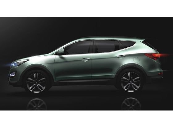 All-new Hyundai Santa Fe Side view