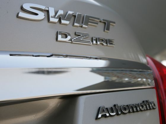 Maruti Suzuki Swift Dzire auto badge