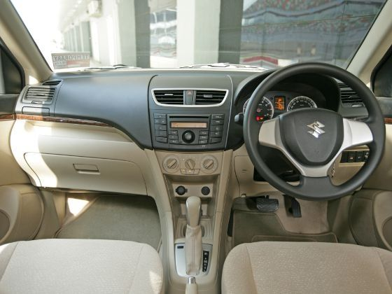 Maruti Suzuki Swift Dzire auto interiors