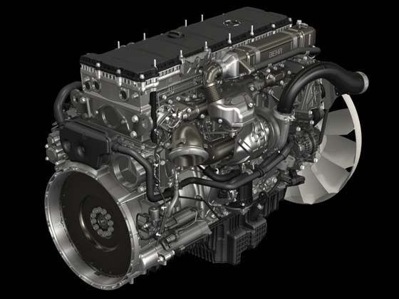 Mercedes-Benz OM 470 Diesel Engine