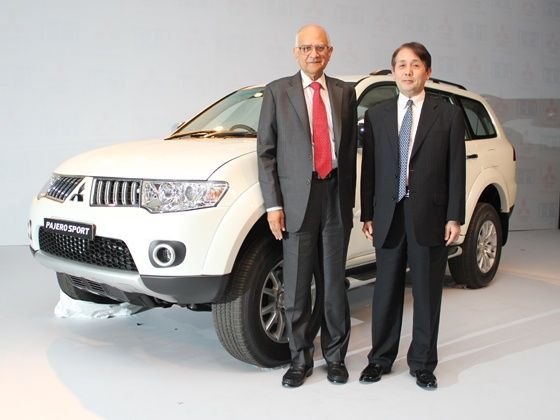 New Mitsubishi Pajero Sport launch