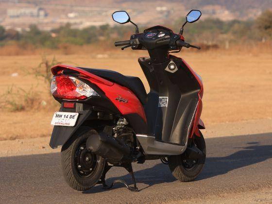 New Honda Dio rear
