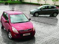 Hyundai i20 and Fiat Punto