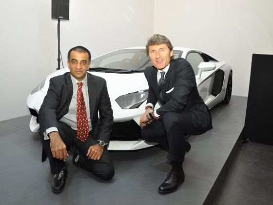 Lamborghini Showroom in Mumbai
