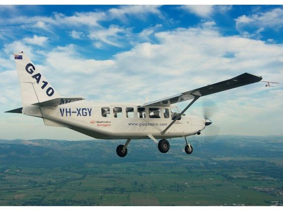Mahindra Aerospaces GippsAero GA 10 takes first flight