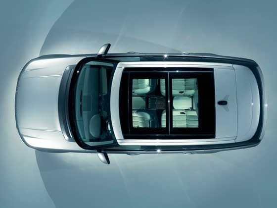2013 Range Rover panoramic roof