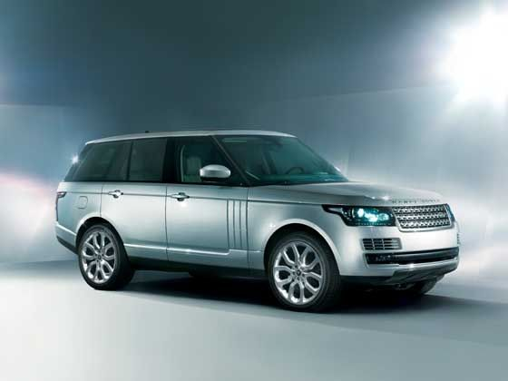 2013 Range Rover front styling