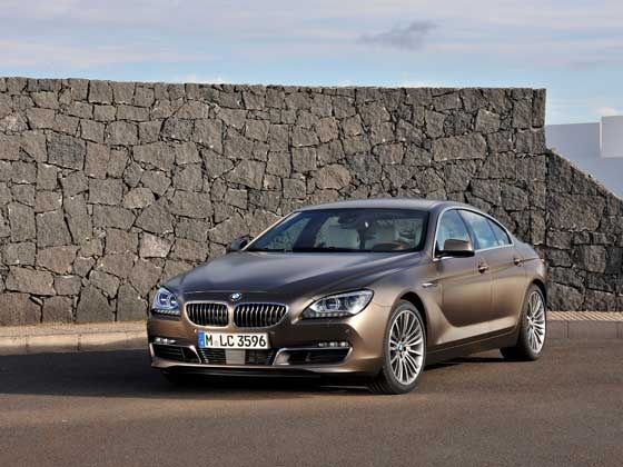 BMW 6 Series Gran Coupe front