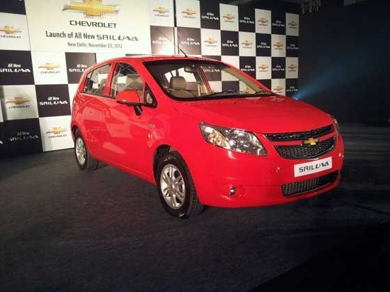 Chevrolet Sail UVA launched