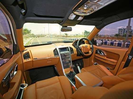 Mahindra XUV500 DC Lounge interiors