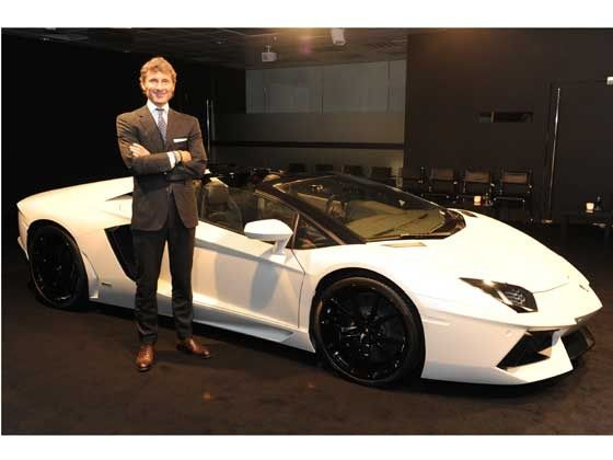 Interview with Stephan Winkelmann, CEO, Lamborghini