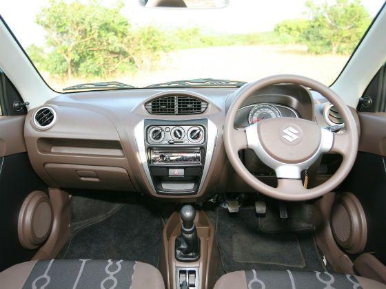 Maruti Suzuki Alto 800 interior dashboard