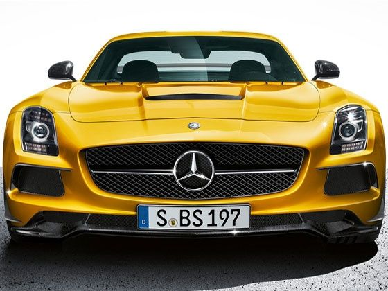 Mercedes-Benz SLS AMG Black