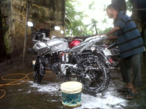 Motorcycle washing for protecting your paint